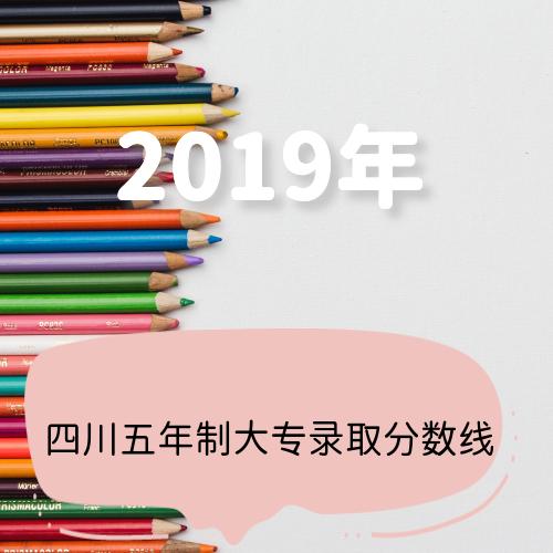 四川省2019年五年制高职(大专)分数线